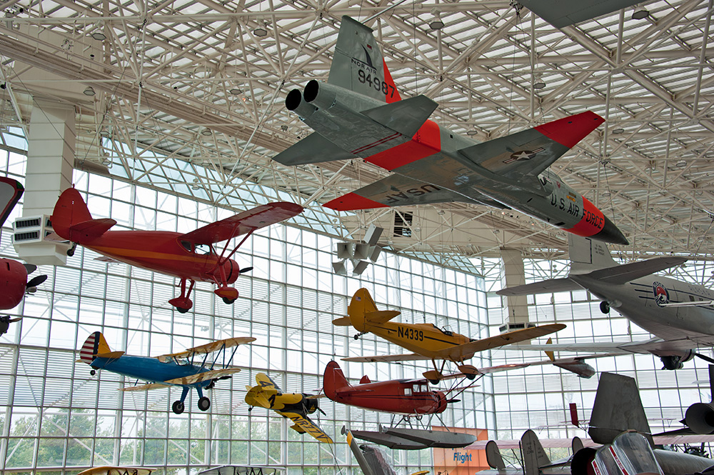 Another Museum Where You Could Spend The Whole Day Is Of Flight In Seattle Main Room Has Planes All Types Hanging From Ceiling