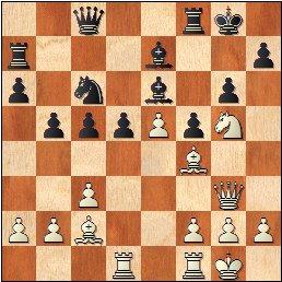 Partida Albareda - Medina, posición después de 18...f5?