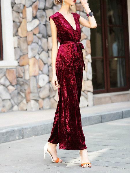 jumpsuit rossa tendenza jumpsuit jumpsuit rosse red jumpsuit tendenze primavera estate 2017 fashion blog italiani fashion blogger italiane blog di moda blogger italiane di moda colorblock by felym mariafelicia magno