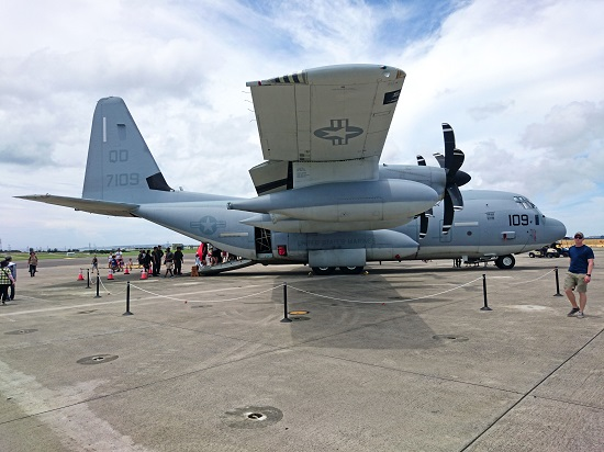 KC-130J SUPER HERCULESの写真