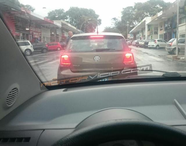 VW Polo 2018: flagrado sem nenhuma camuflagem - Brasil