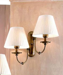aplique iluminacion de pared clasica