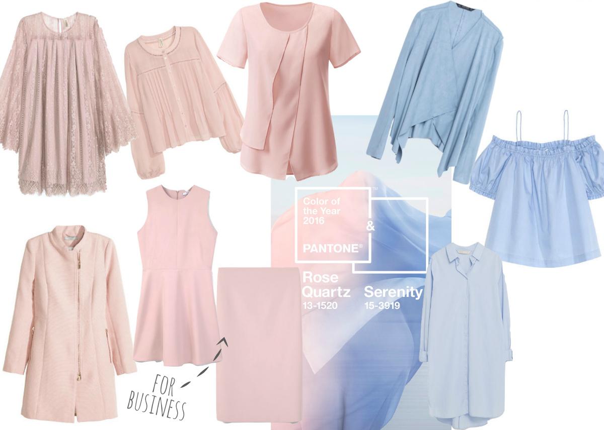Shopping Picks für die neuen Trend Farben Serenity und Rose Quartz
