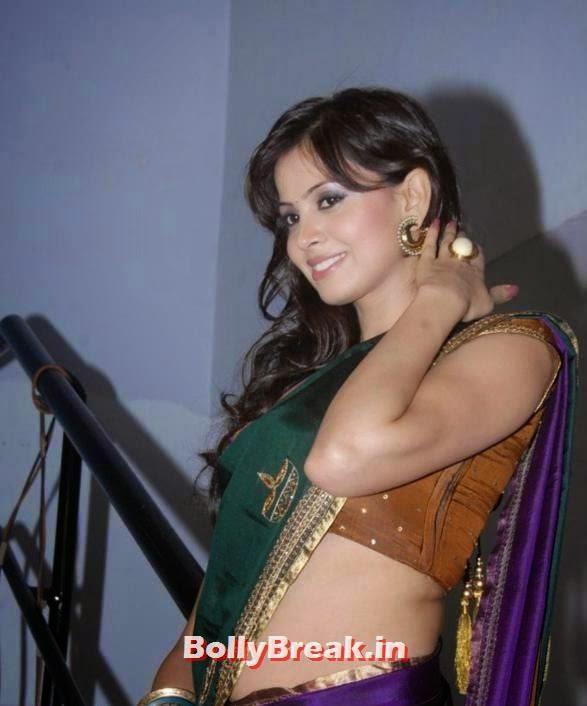 , Tamil Actress Latest HD navel Stills in Saree - Supraja Sailaja