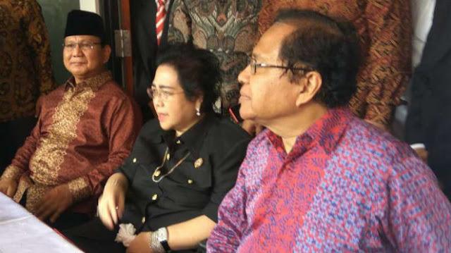 Kans Rizal Ramli Jadi Cawapres Prabowo, Ini Jawaban Gerindra