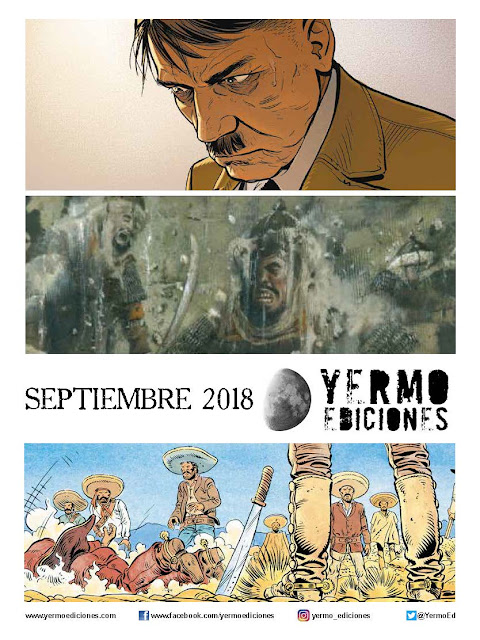 """Novedades de septiembre 2018 de """"Yermo Ediciones"""""""
