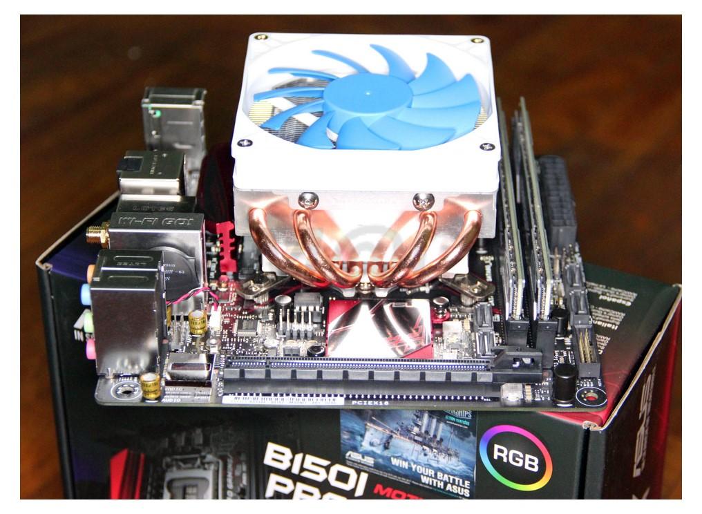 MacClipper - 24/7 Real World Overclocking!: Asus B150i Pro Gaming