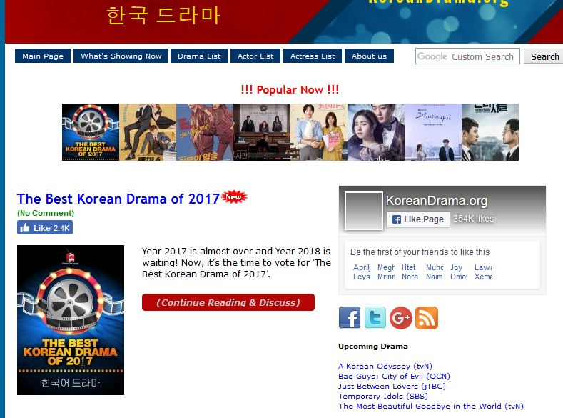 Website For Free Online Korean Drama