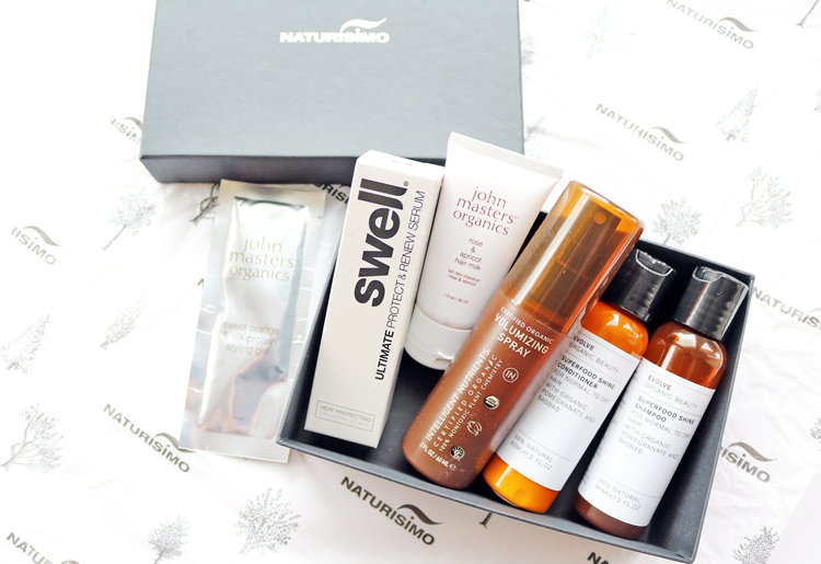 Naturisimo Gorgeous Hair! Discovery Box review