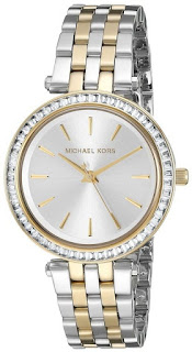 Michael Kors Women's MK3405 Mini Darci Two-Tone