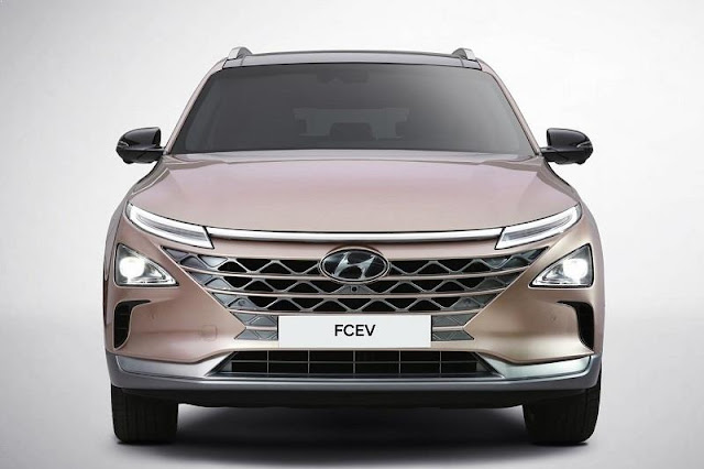 hyundai nexo electric car