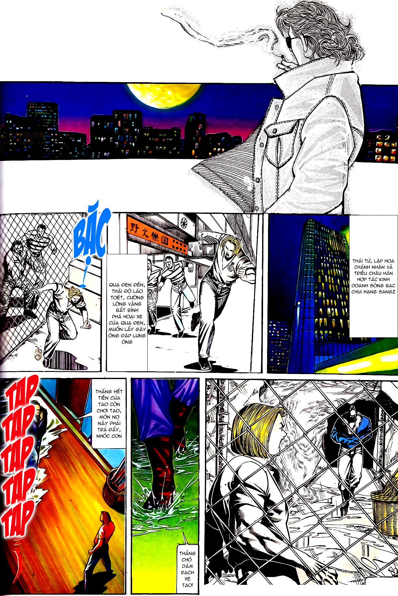 Người Trong Giang Hồ chapter 154: nam đẹp trai trang 1
