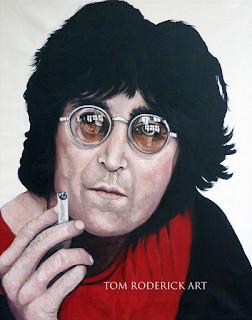 John Lennon by Boulder portrait artist Tom Roderick
