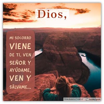 Oración del Día de Hoy Martes - Para Buscar el Socorro del Señor en los Días de Aflicción