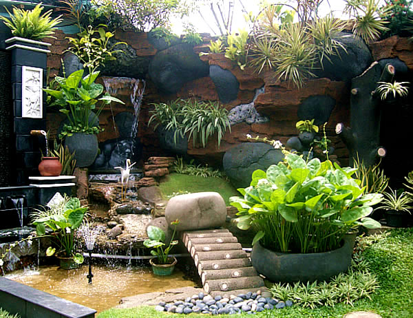 Simple Garden Ideas with Beautiful Landscape as a Minimalist Design