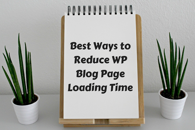 Reducing Page Loading Time on WordPress