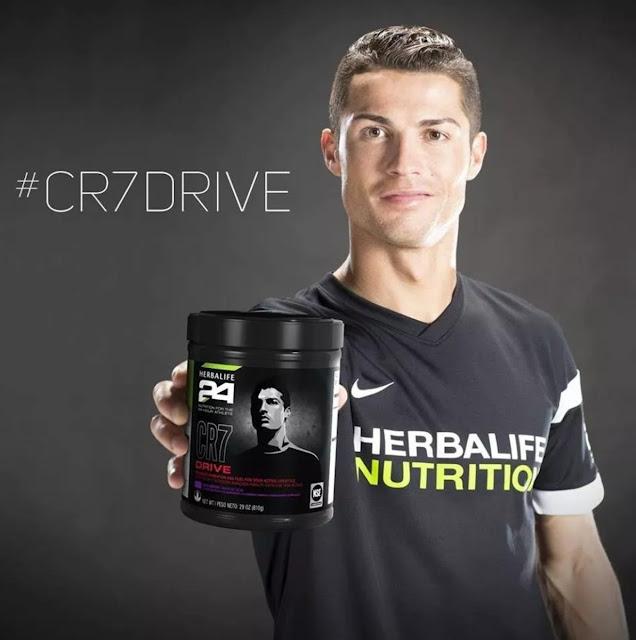 Herbalife produtos 24 horas CR7 Drive