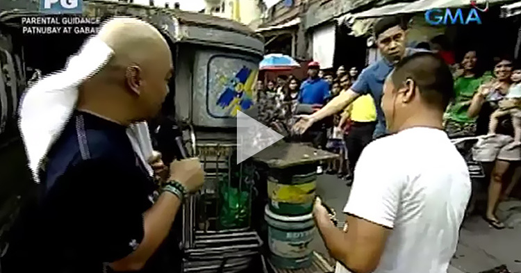 Sugod Bahay Winner na nakatira sa jeep na may garden