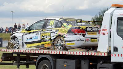 Drivers & Cameraman Escape Injury Following Race Three Crash