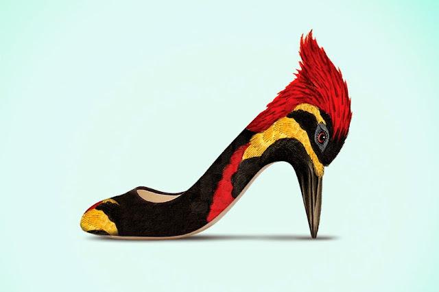 Sillone Exotico en forma de ave