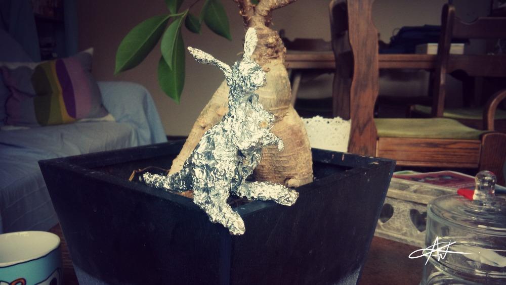 Sculpting without clay Kangaroo