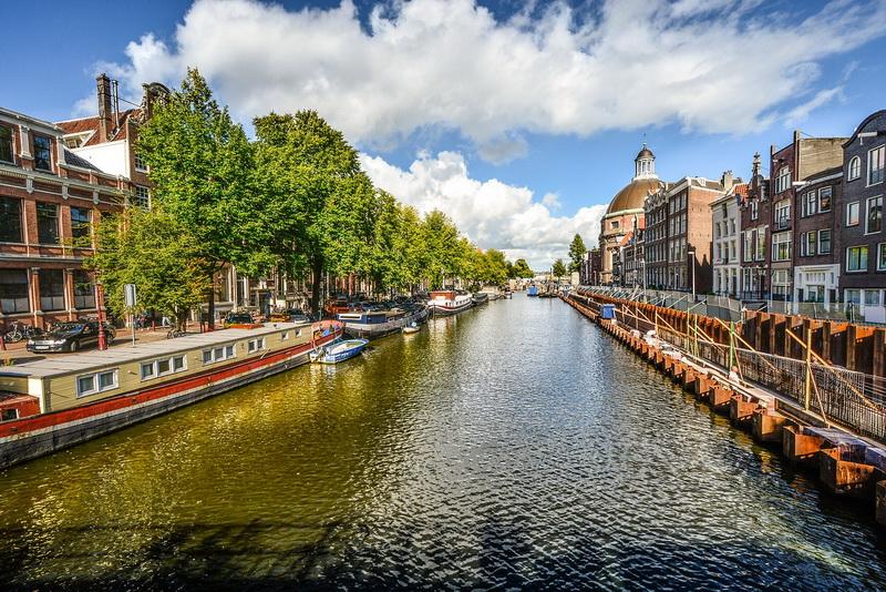 Amsterdam kênh đào