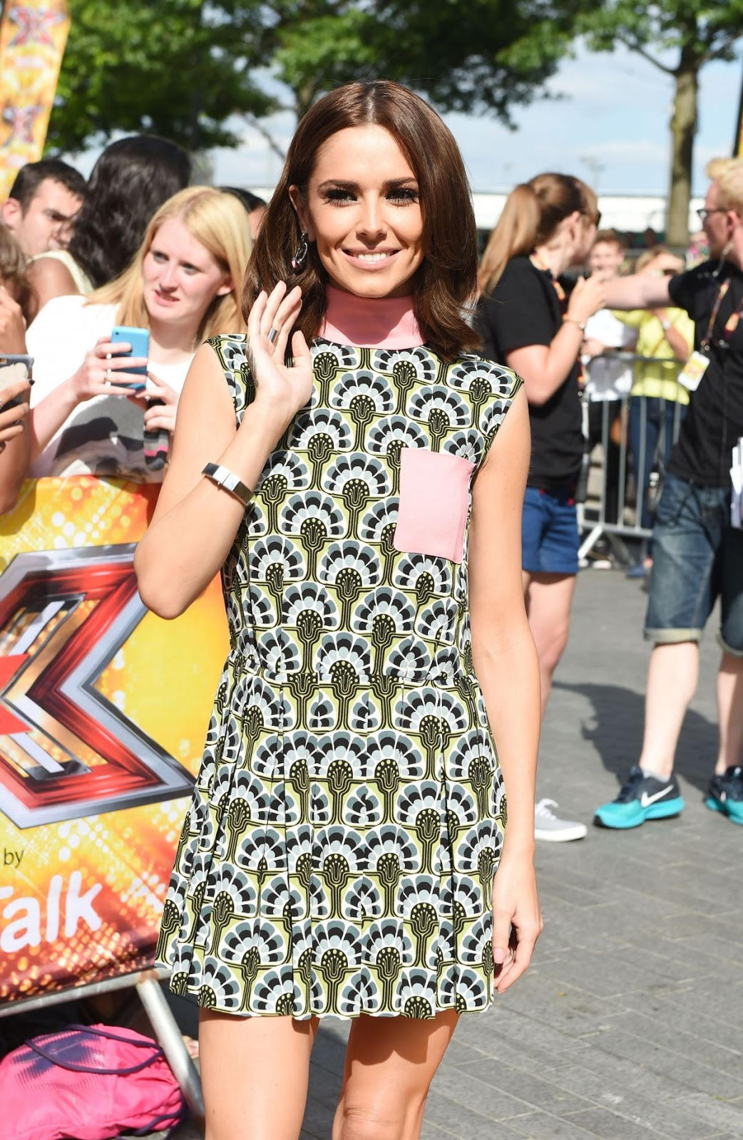 Cheryl Cole At X Factor Auditions In London