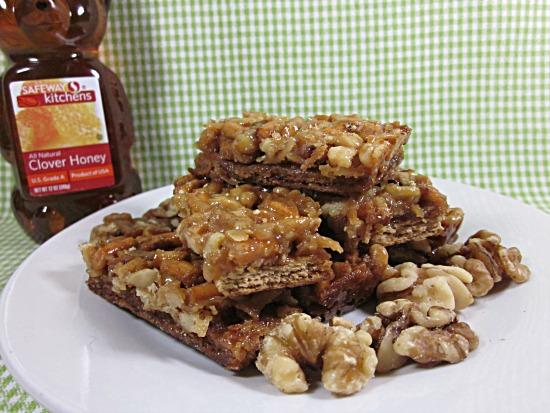 From Grandma Loy S Kitchen Honey Nut Pretzel Graham Bars