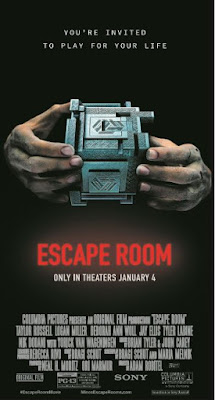 DETROIT GIVEAWAY: 25 admit-two passes for Escape Room, 12/19 at MJR Troy {ends 12/17}