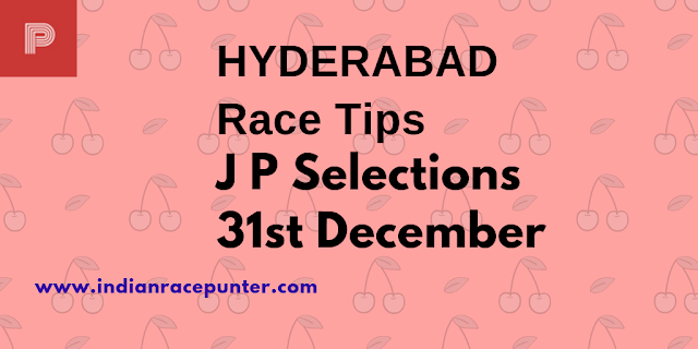 Hyderabad Race Tips 31st December, India Race Com, Indiaracecom