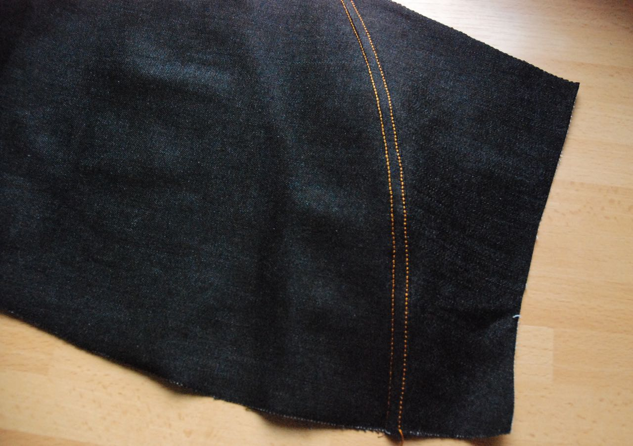 petit main sauvage making jeans