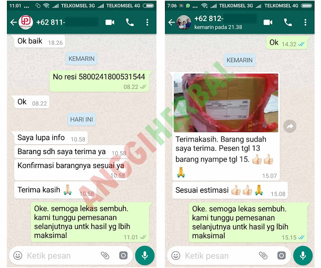 feedback qnc jelly gamat