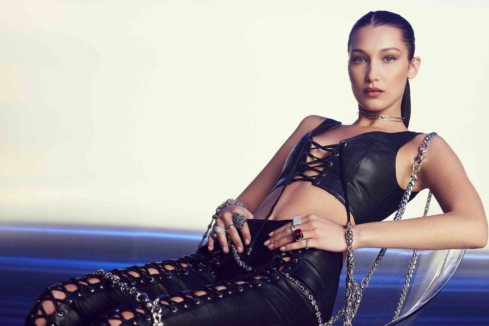 Chrome Hearts x Bella Hadid Jewellery Campaign