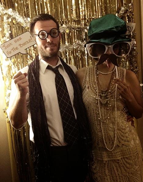 speakeasy party photobooth