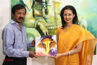 Actress Gautami visits Ganesh 365 Art Exhibition Pictures  0008.jpg
