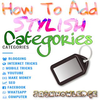blog me stylish label kaise add kare
