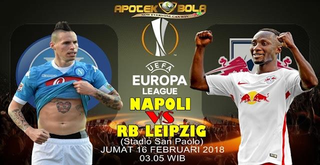 Prediksi Napoli vs Leipzig 16 Februari 2018