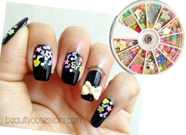 3D Decorator (mix designs) Wheel by Beautybigbang - Review & NailArt