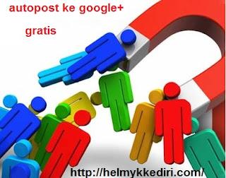 Cara Autopost KeKomunitas GooglePlus Gratis7