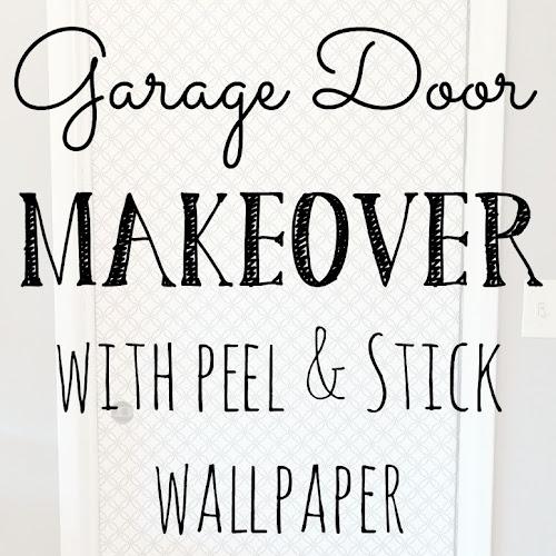 Interior Door Makeover with Peel & Stick Wallpaper