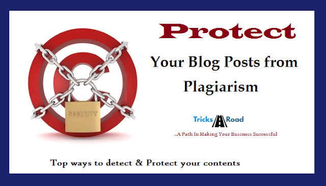 protect blog posts from plagiarism