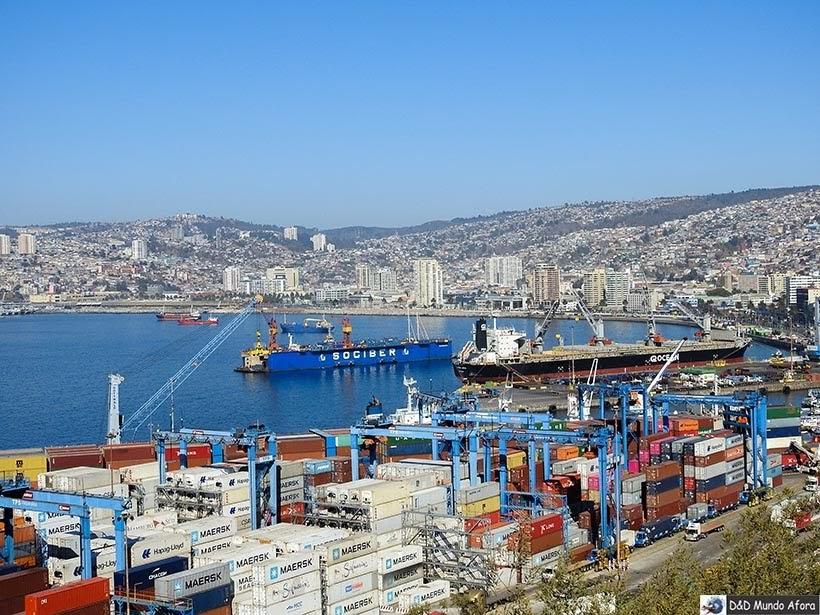 Porto de Valparaíso - O que fazer em Valparaíso em algumas horas