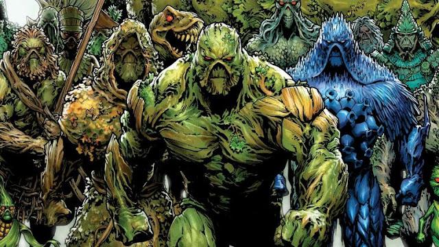 A DC está produzindo uma série do Monstro do Pântano para seu serviço de Streaming. Segundo James Wan, o projeto será como a Bela e a Fera.