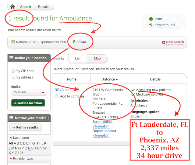 Humana Healthcare the ambulance is 2,337 miles away marchmatron.com
