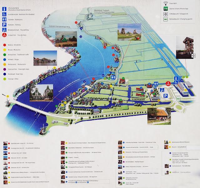 Plano de Zaanse Schans, Holanda