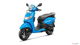 Hero Pleasure Plus 110 scooter specification and price