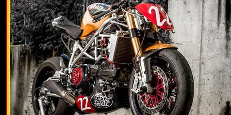 Ducati 1198 SP Kustom, Garangnya Sang 'Matador Racer'