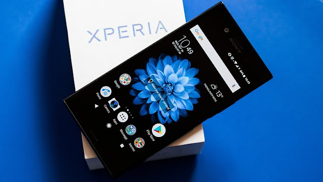 Software Sony Xperia XZ1