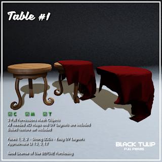 [Black Tulip] Mesh - Table #1