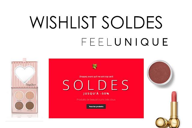 Wishlist soldes feelunique